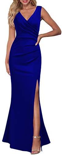 Royal blue wedding dress _image4