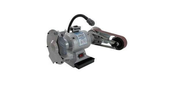 Cool Linishall 8 Inch Hd Bench Grinder With Belt And Disc Camellatalisay Diy Chair Ideas Camellatalisaycom