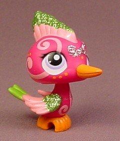 Hasbro Littlest Pet Shop Shimmer N Shine Pets Woodpecker Figure #2340 DAB02A39