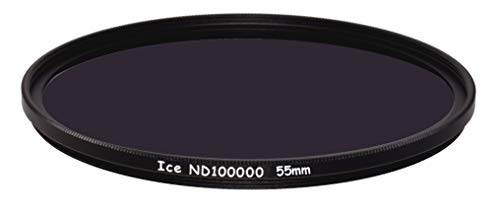 ICE 55mm ND100000 Optical Glass Filter Neutral Density 16.5 Stop ND 100000 55
