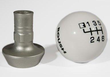 Roush 421556 Shift Knob, White Pool Ball, 6 Speed, Mustang