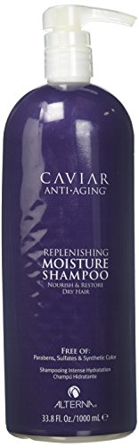- Alterna Caviar for Women Anti Aging Replenishing Moisture Shampoo, 33.8 Ounce