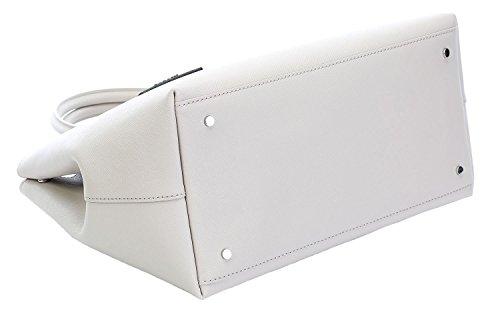 Karl Lagerfeld Borsa A Mano Donna 61KW3045283 Pelle Grigio