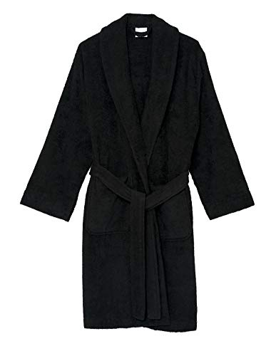 TowelSelections Women's Robe, Turkish Cotton Short Terry Bathrobe XX-Large Moonless - Made Machine Rope