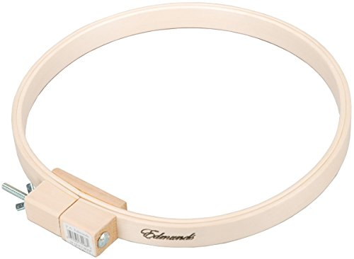 Frank A. Edmunds 5588W Quilting/Embroidery Hoop Wood, 12