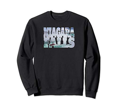 Niagara Falls Maid of Mist Waterfall Boat Tourist Souvenir Sweatshirt ()