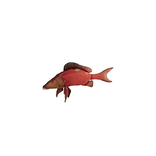 J-line - Cojín de Pescado Paul de poliéster, Color Rojo ...