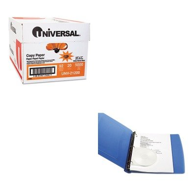 KITIVR83210UNV21200 - Value Kit - Innovera Two-Hole Punched Shell Case (IVR83210) and Universal Copy Paper (UNV21200)