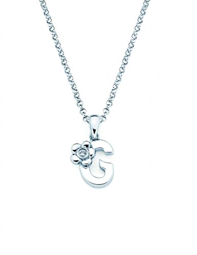 Little Diva Diamonds Sterling Silver Diamond Accent Initial