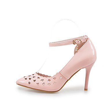 Talones de las mujeres Primavera Verano Otoño Otro PU oficina y carrera Fiesta y vestido de noche del tacón de aguja Otros Azul Rosa Blanco Otro Pink