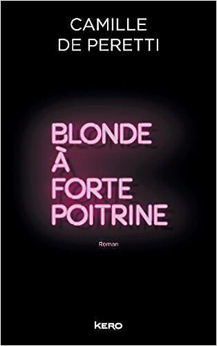 Blonde à forte poitrine de Camille Perreti 2016