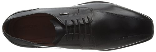 Geox U Alex A Abx - Zapatos de cordones Schwarz (BLACKC9999)