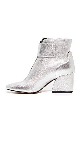 Women's Boot Silver Leather Dolce Varra Vita Fashion Tnvxv5Fq