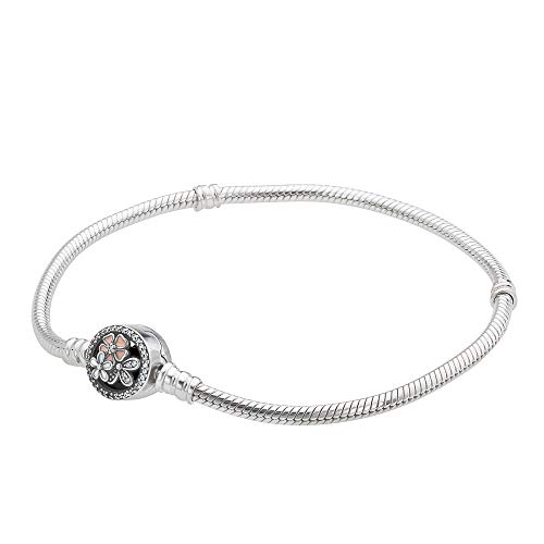 Pandora Moments Multicolored Bracelet with Poetic Blooms Clasp 590744CZ19 ()
