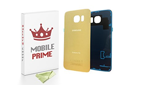 Samsung Galaxy S6 Replacement Rear Back Glass Back Cover - MOBILEPRIME (Gold)