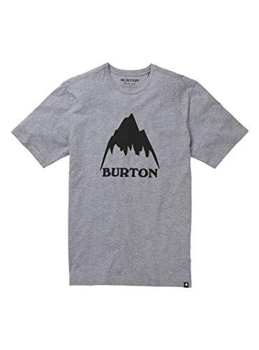 Burton Men's Classic MTN High Short Sleeve Tee, Gray Heather SS19, Large - One Mens All Mountain Snowboard