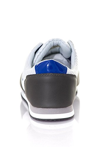 Bleu Blanc Chaussures Redskins Disca en Toile Gris Gris Blanc Baskets Bleu RpggvqwW6P