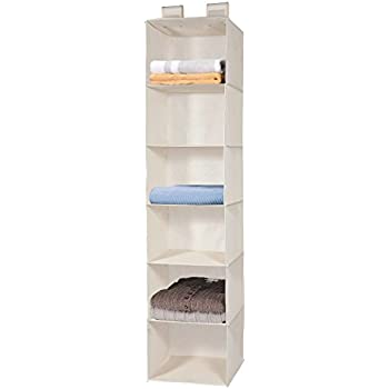 Hanging Closet Organizer, MaidMAX Collapsible Hanging Storage Shelf For  Closet Clothes Sweater Accessories Shoes Gifts