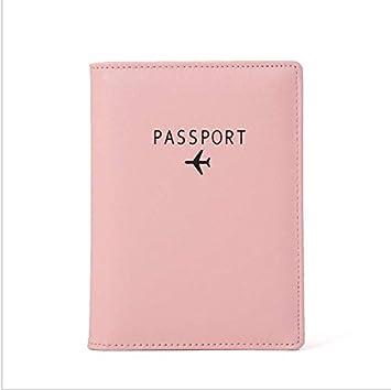 OneMoreT - Monedero de piel para pasaporte, unisex, estilo ...
