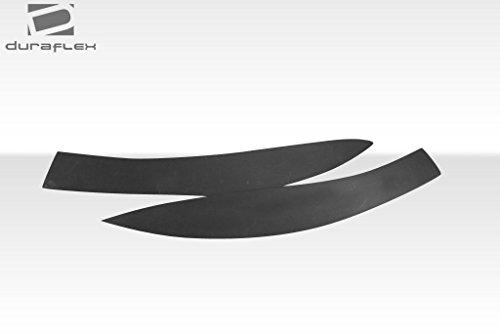 Duraflex Replacement for 2014-2015 Mercedes CLA Class Black Series Look Wide Body Rear Fenders - 4 Piece by Duraflex (Image #5)