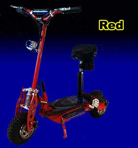 Red Super Turbo 1000watt Electric Scooter