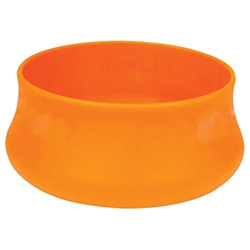 Guyot Designs Squishy Pet Bowls, Tangerine, 24 Oz by Guyot Designs