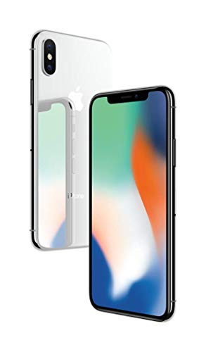 Apple iPhone X (64GB) - Silver [Locked to Simple Mobile Prepaid]