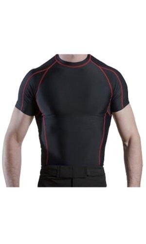Men's Compression Shirt Shorts Sleeve – DiZiSports Store