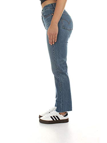 Con 501 A Taglia Donna Wedgie Jeans 24 Alta Levi's Vita Strappi xO4wA0Eqq