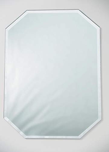 Darice 1633-95 Beveled-Edge Octagon Placemat: 12 x 18 inches Mirror (Table Mats Mirror)