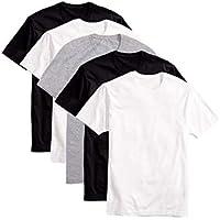 Kit 5 Camisas Básica T-shirt Algodão Penteado MECHLER 002 3 cores