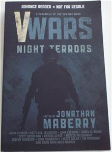NEW SIGNED JONATHAN MABERRY V-WARS: Night Terrors ARC UNCORRECTED PROOFS (V Wars Night Terrors)