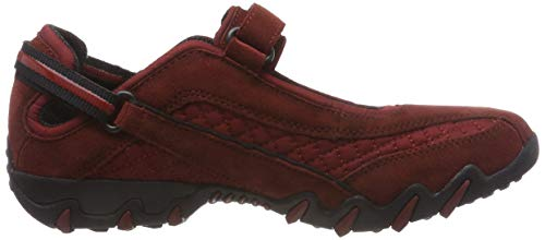 w C Allrounder Niro 64 By suede Scarpe 64 Running Donna Mephisto rust Rosso mesh rust 7wp7q1CUnx