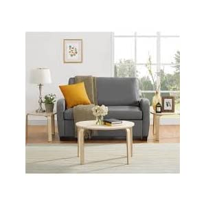 "Mainstays 54"" Loveseat Sleeper, Grey"