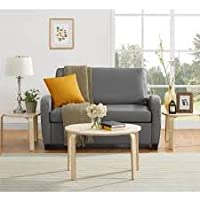 Mainstays 54 Loveseat Sleeper, Grey