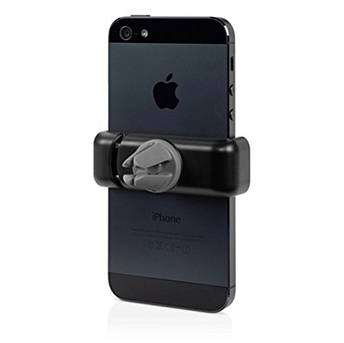 Cell Phone Holder, Coocolor Portable Adjustable Car Air Vent Mount Holder 360 Degree Rotatable Cradle for Most Smartphones (Screen Below 6 Inch)apple Iphone 6, Iphone 6 Plus,iphone 5/5s/4/4s, Google Nexus,samsung Galaxy S6/s5/s4/s3 S6 Edge,htc One, Lg, Sony, Blackberry and More (Black)