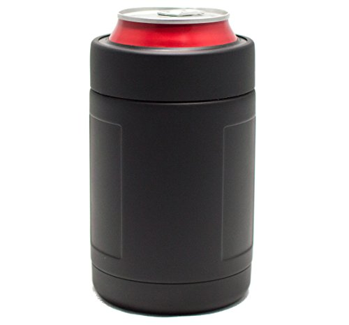 12 oz JACKET - CAN & BOTTLE Insulator - Stainless Steel Double Wall Vacuum Insulated Thermos Beverage Cooler