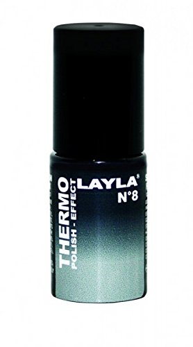 THERMO-NAGELLACK - LAYLA THERMO POLISH EFFECT - BLACK TO GREY