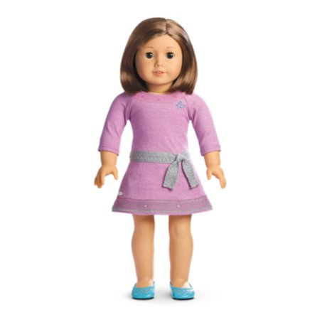 American Girl - Truly Me™ Doll: Light Skin, Short Brown Hair, Brown Eyes DN57 (Doll Light Skin)