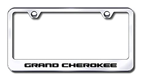 Amazon.com: Jeep Grand Cherokee License Plate Frame: Automotive