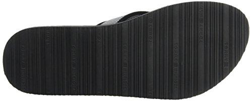Tommy Hilfiger Damen M1285ellie 9d Zehentrenner Schwarz (Black 990)