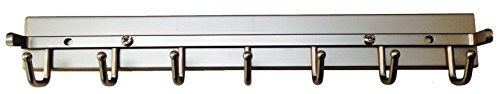 Deluxe Sliding Belt Rack, Satin Nickel 14