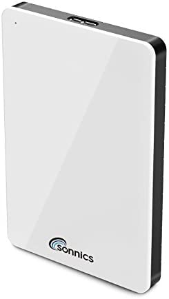 Sonnics - Disco duro externo de bolsillo USB 3.0 compatible con Windows, Mac, Xbox One y PS4 blanco 1 tb: Amazon.es: Informática