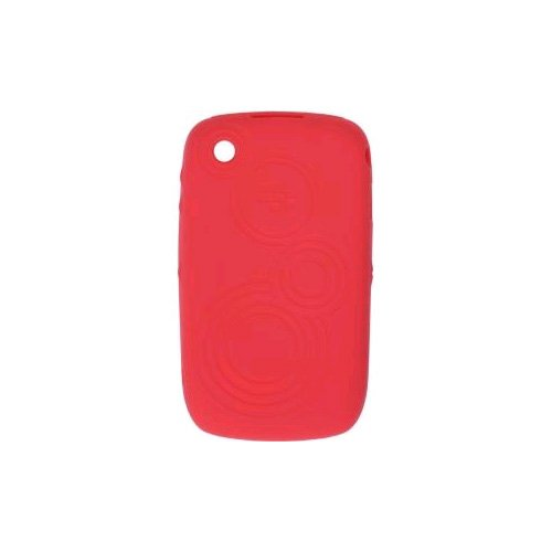 BlackBerry 8520 Embossed Skin, Butterfly, Coral