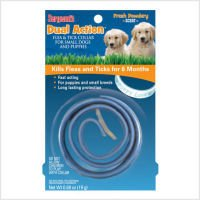 Sergeant Dual Action Flea & Tick Collar for Small Dogs & Puppies (Color May Vary) (Pack of 3)