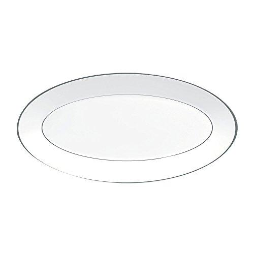 - Jasper Conran by Wedgwood Platinum Oval Platter 15.5