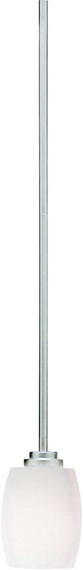 Kichler 3497NI Mini Pendant Lighting, Brushed Nickel 1-Light 5 W x 14 H 100 Watts