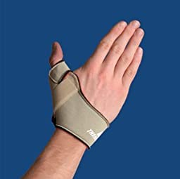 Thermoskin Flexible Thumb Splint, Beige, Left, Medium