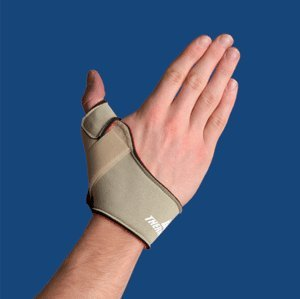 Thermoskin Flexible Thumb Splint, Beige, Left, Large