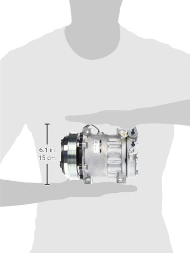 Denso 471-7007 New Compressor with Clutch rm-DSE-471-7007